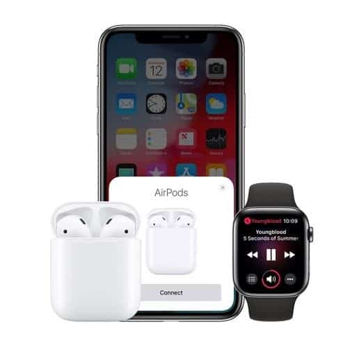AirPods с Apple Watch