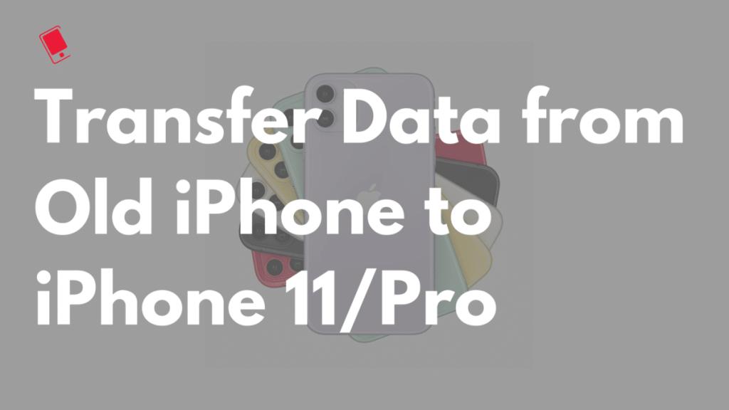 перенос данных на iphone 11 pro max